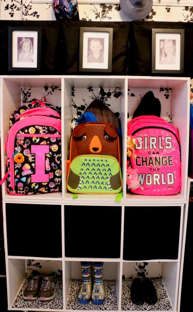 Backpack station